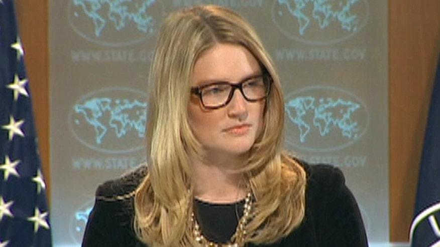 James Rosen questions State Department Spokesperson Marie Harf