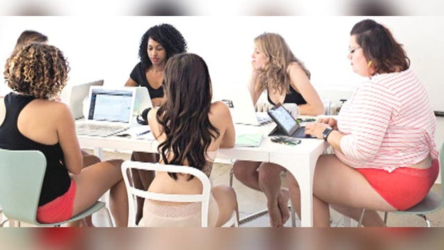 Lingerie ad with geek gals raises ire