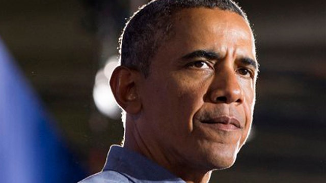 Will the 'red line' leave Obama red-faced?