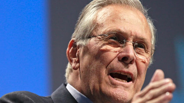 Rumsfeld on Syria, Obama's 'red line' and the world stage