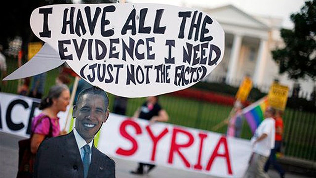 Undecided on Syria