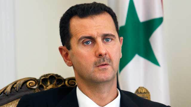 Are there talks to get Assad to leave voluntarily?