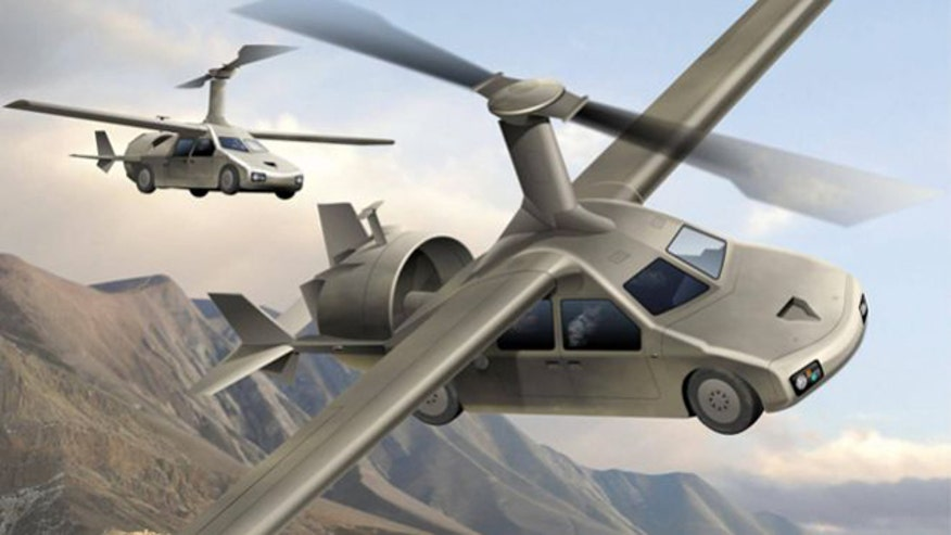 Allison Barrie takes a look at future tactical vehicles that both drive and fly