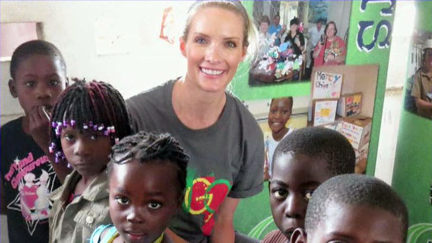 Dana reports from world's largest charity hospital ship