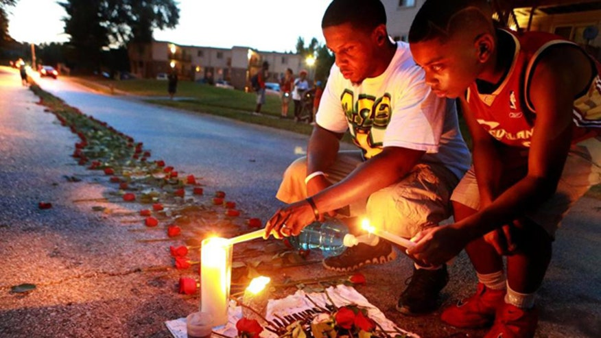 A look at the timeline of the Michael Brown shooting