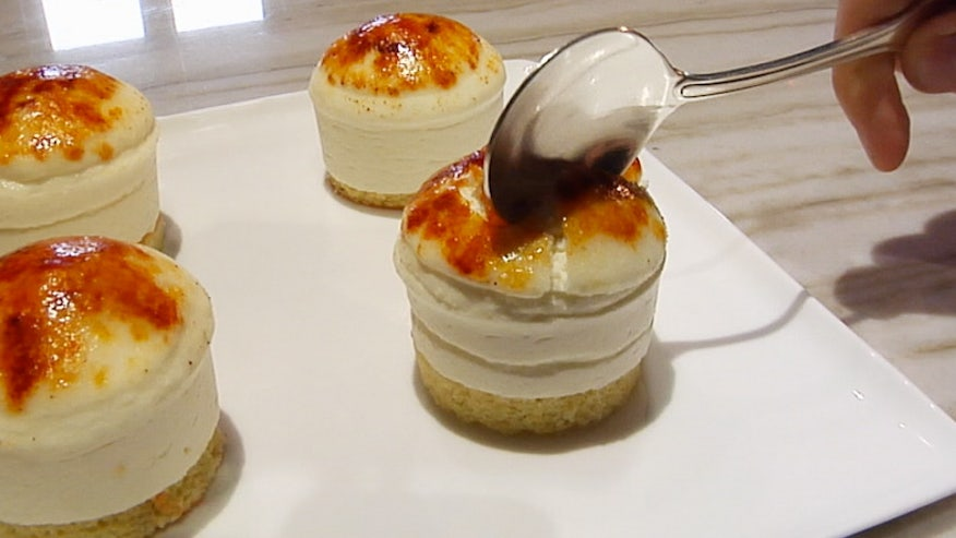 Pastry Chef, Dominique Ansel shows us how to make one of his signature desserts.