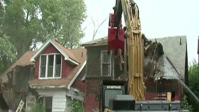 Detroit to demolish 4,000 abandoned buildings