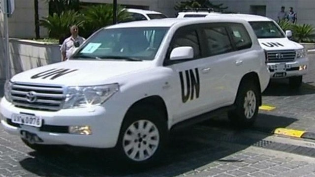 UN weapon inspectors on the move in Syria