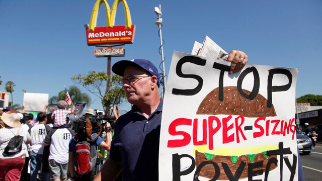 Did fast food workers strike have any impact?