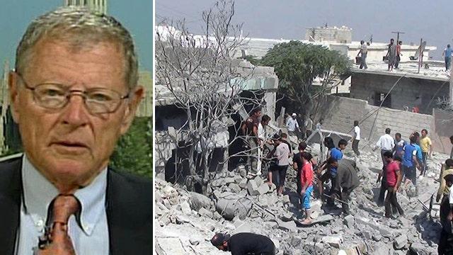 Sen. Inhofe: 'We can't afford' to intervene in Syria