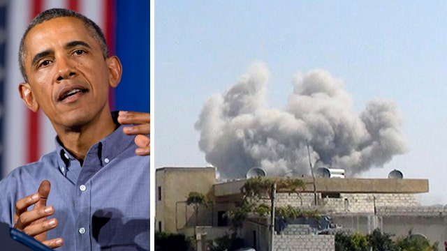 What is Obama trying to achieve in Syria?