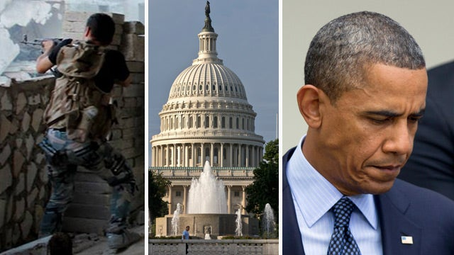 Lawmakers want Obama to get OK from Congress to strike Syria