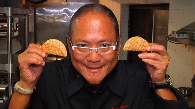 The Iron Chef's Hamachi Fish Tacos