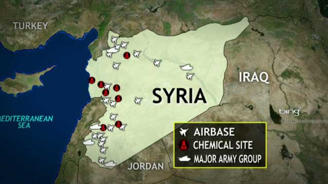 Can US military eliminate Assad's chemical weapons arsenal?