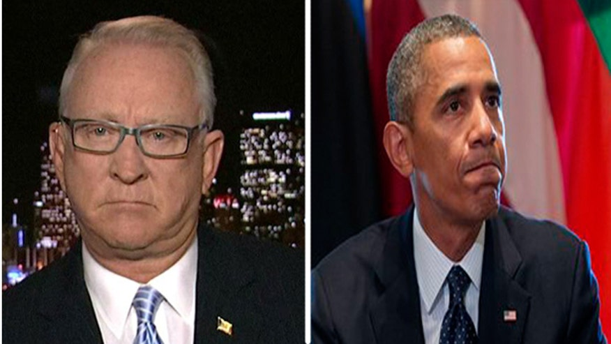 Rep. Buck McKeon reacts to President Obama's statement