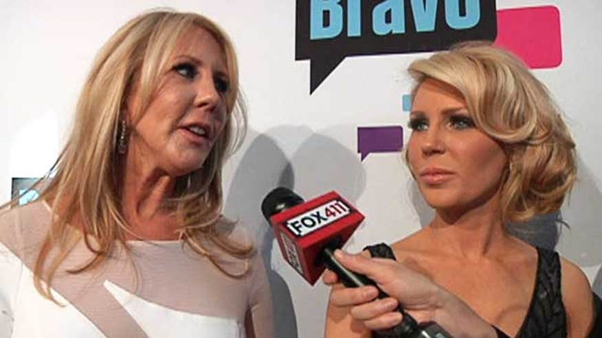 The 'Real Housewives of Orange County' reportedly staged scenes. Is anything real?