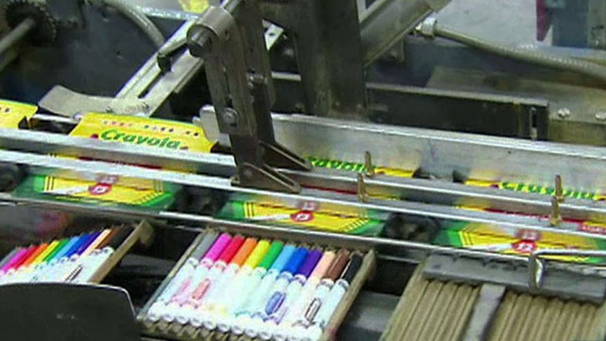 Crayola initiative recycles dried up markers from schools
