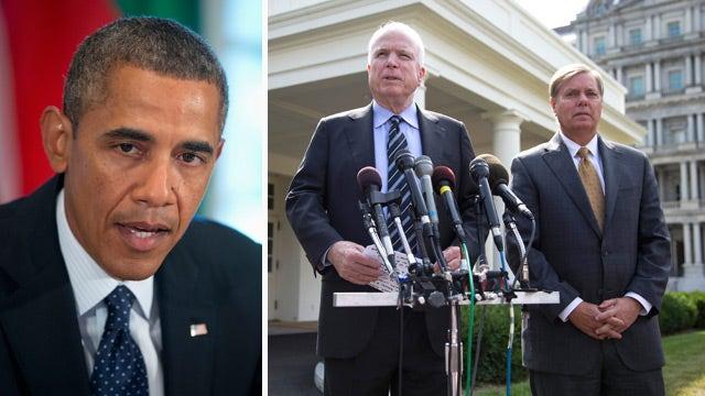President cranks up effort to win support for Syrian strike