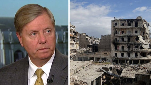 Sen. Graham on White House meeting, response to Syria