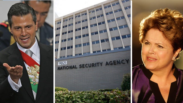 Report: US spied on leaders of Mexico, Brazil