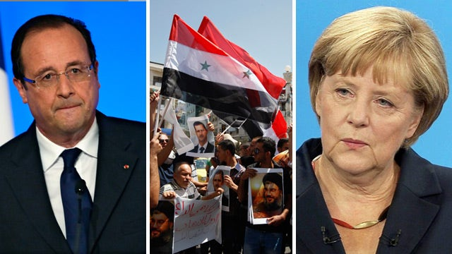 US plan for Syrian response divides Europe, Arab nations
