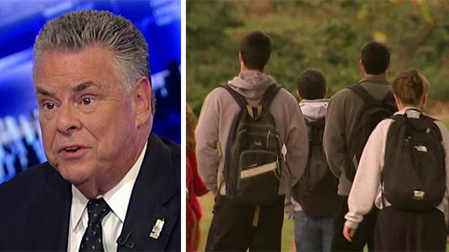 Rep. King reacts to new fears over student visa program