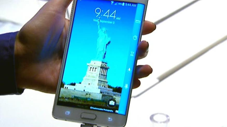 FoxNews.com SciTech Editor James Rogers on how Samsung hopes to shake up the smartphone market with the launch of its Galaxy Note Edge, which boasts a curved display