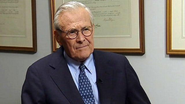 Rumsfeld: Obama is the weakest president of my lifetime