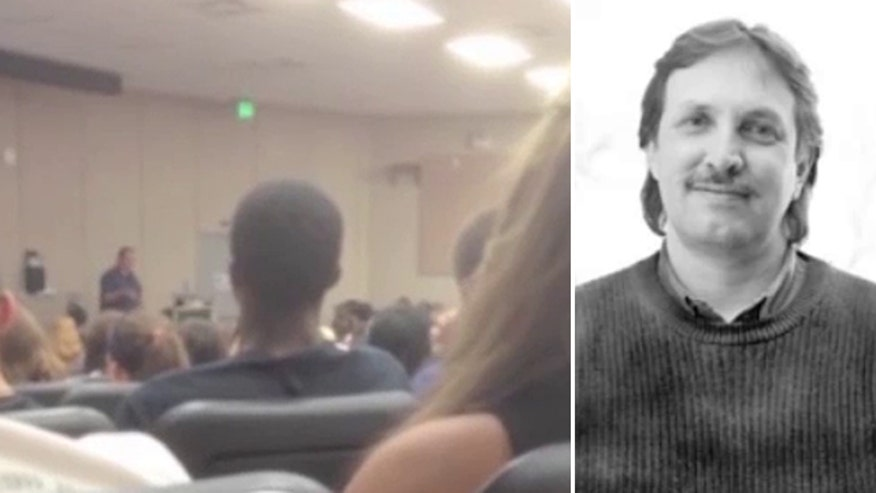 Michigan State University instructor's controversial comments caught on tape