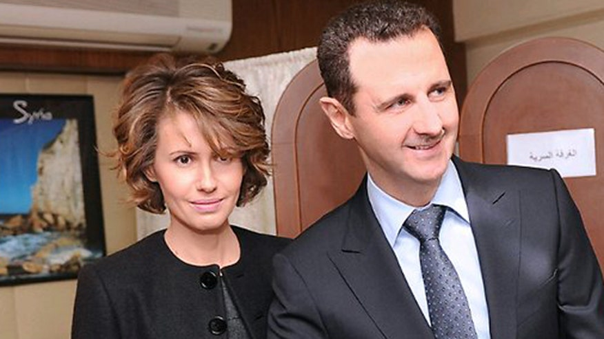 Asma and Bashar al-Assad -- a match made in hell | Fox News