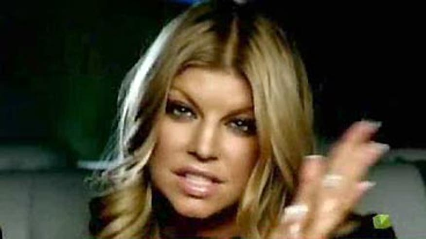 Singer and Actress Fergie raise awareness for AIDS