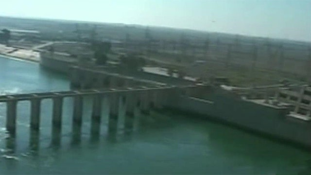 US launches airstrikes to protect Haditha Dam from ISIS