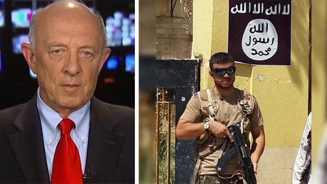 James Woolsey on US taking out ISIS' military capability