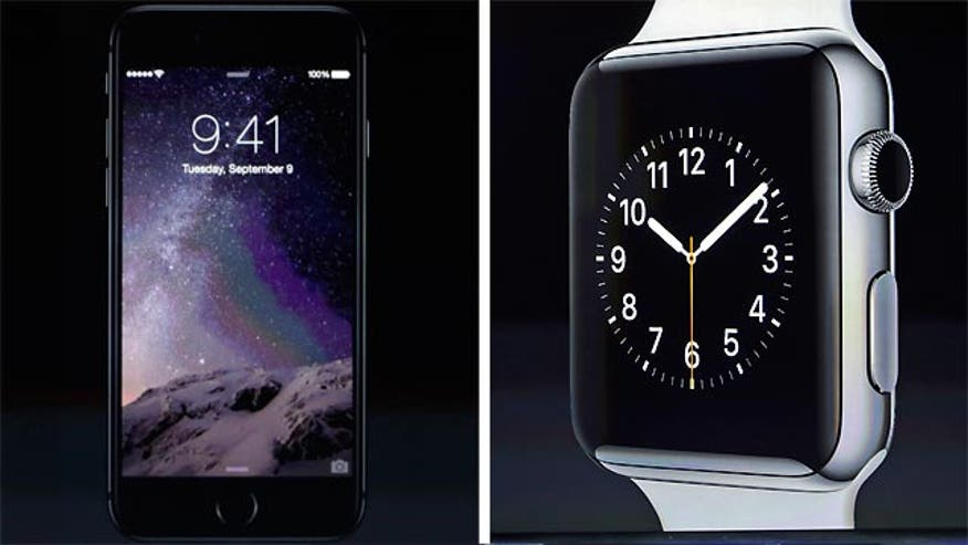 Apple unveils smartwatch, iPhone 6 and iPhone 6 Plus