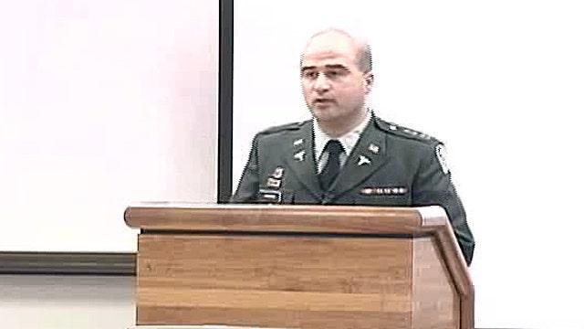 Nidal Hasan's June 2007 'Grand Rounds' presentation, part 1