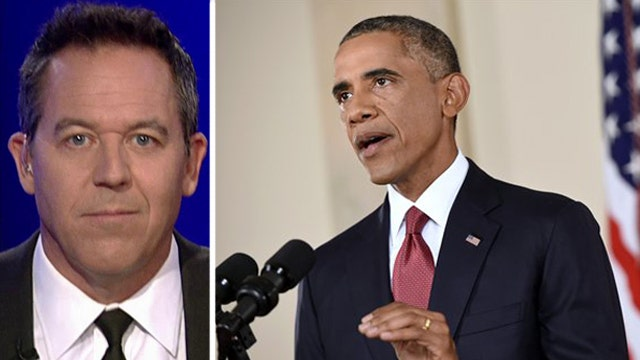 Gutfeld: Mr. President, the 'I' in ISIS doesn't mean 'igloo'