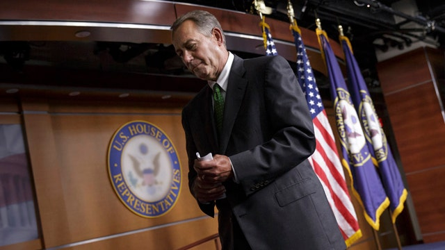 Boehner: I support request to arm Syrian rebels