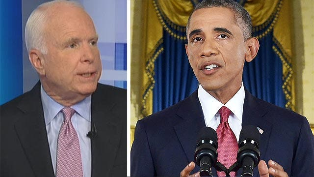 "McCain: Obama's ISIS speech was ""disingenuous"""