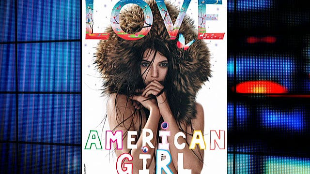 Kendall Jenner brave to go bare?