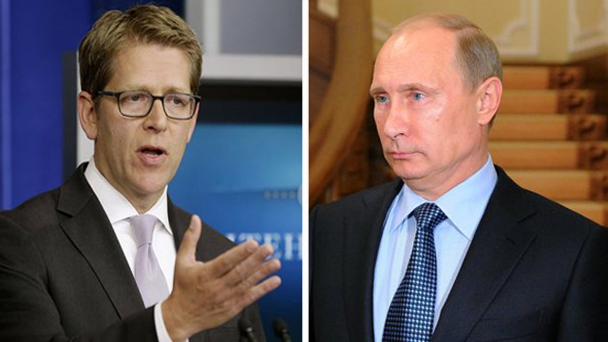 Jay Carney: Russia's credibility is on the line