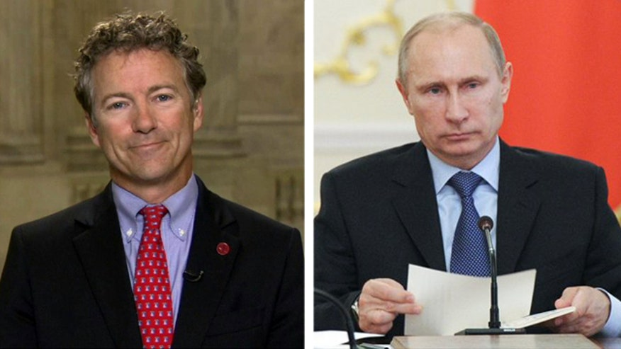 Sen. Rand Paul says there's 'no good purpose' for U.S. intervention