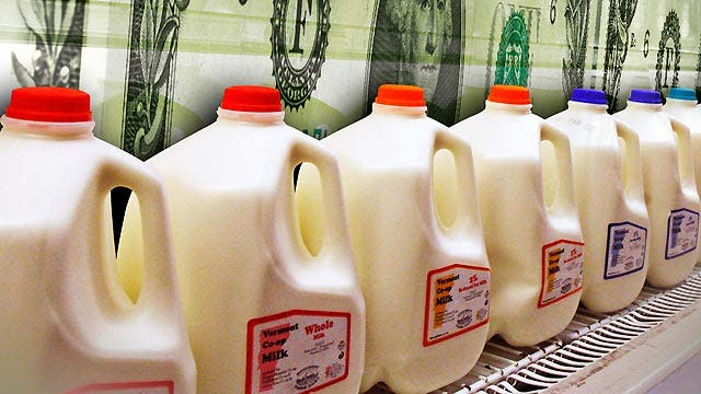 Why are milk prices going through the roof?