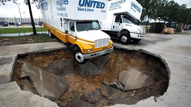Big bucks from big holes: Sinkhole repair business booms