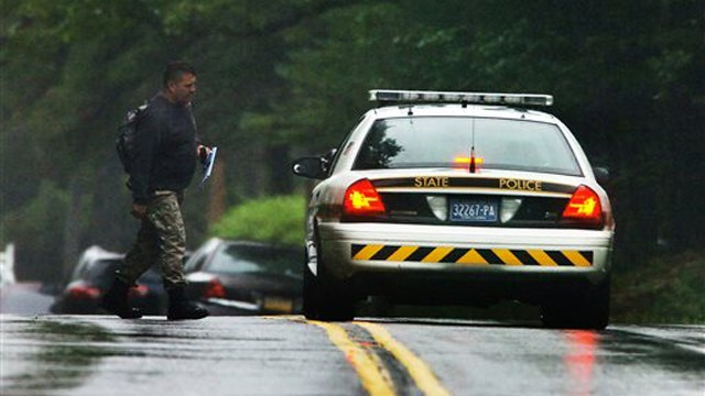 Two state troopers attacked during ambush shooting in PA
