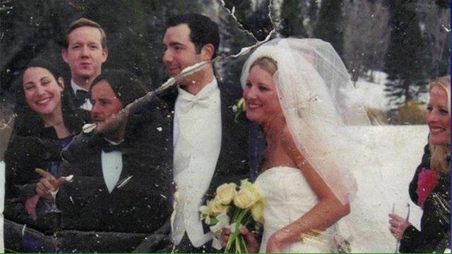 Thirteen year wedding photo mystery solved