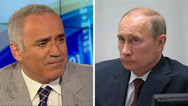 Garry Kasparov's advice for taking on Putin