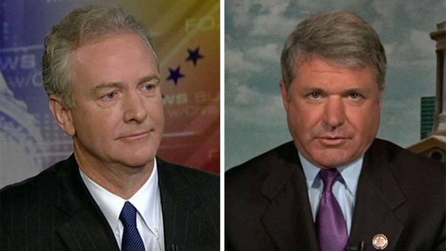 Reps. Michael McCaul and Chris Van Hollen weigh in on 'Fox News Sunday'