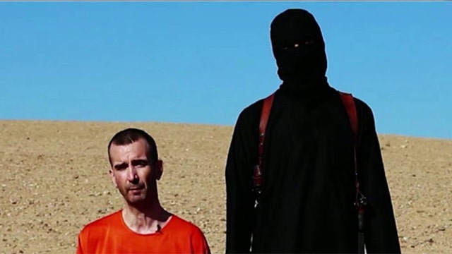 ISIS execution video appears to show Mark Haines' beheading