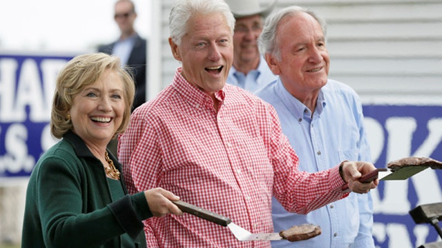 Is Hillary Clinton already campaigning for president?