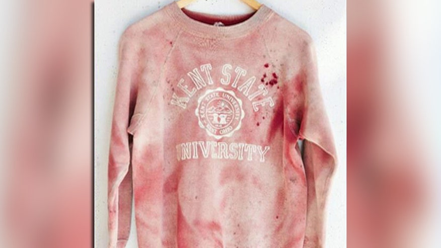 'Off the Record,' 9/15/14: If want to make destroy young people, poison their culture, make them glorify violence and the personal heartache of others, that's what Urban Outfitters is doing with their bloody 'Vintage Kent State University' sweatshirt